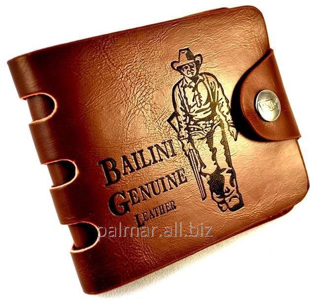 """Купить Гаманець """"Bailini Genuine Leather Original"""", стильний, Чоловічий"""