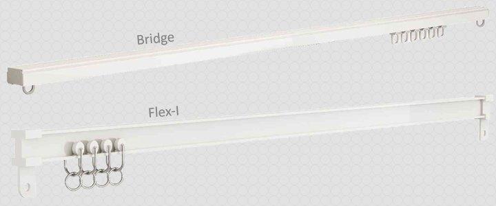 Карнизы для штор профильные потолочные