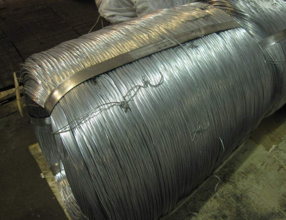 Buy Wire IT thermally raw zinced in bays 1.0 - 5.8 mm