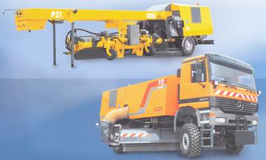 Buy Sweeping - the blowing-off R-21 S car for cleaning of runways of R-21 S, has the all-wheel drive, with management on a back axis, equipment for the airports, Odessa, Ukraine