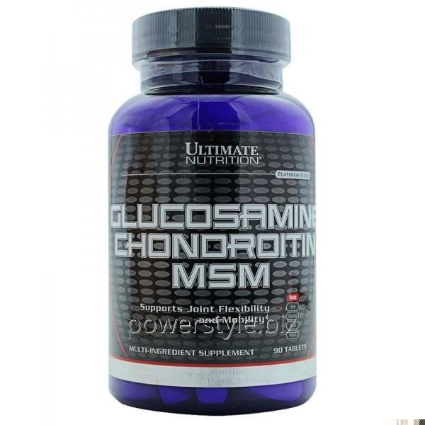 Купить Добавки для спортсменов Glucosamine Chondroitin MSM (90 таблетс)