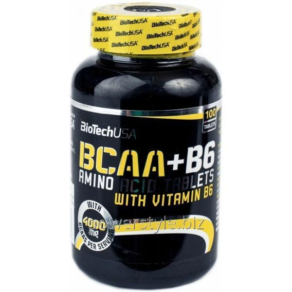 Купить Аминокислота BCAA + B6 (100 таблетс)