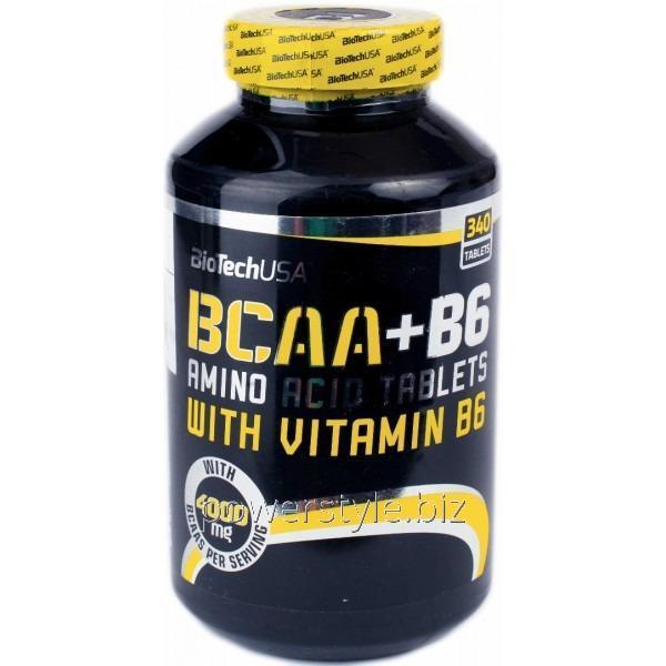 Купить Аминокислота BCAA + B6 (340 таблетс)