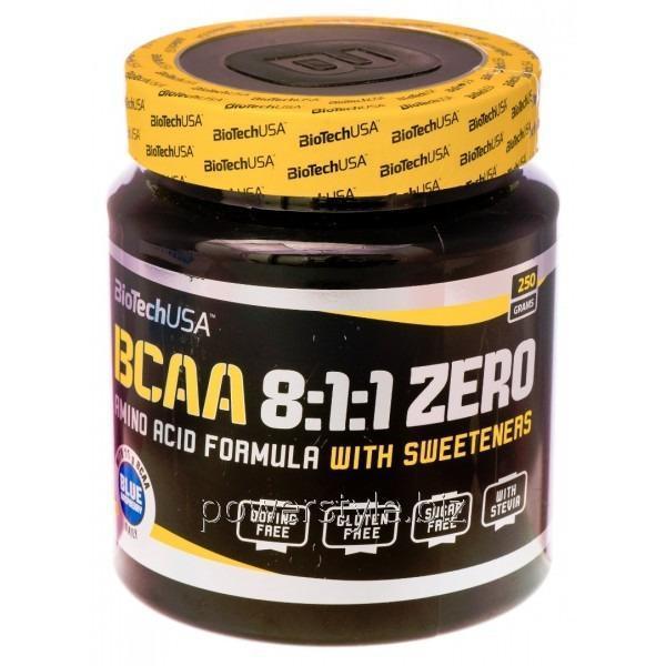 Купить Аминокислота BCAA 8:1:1 ZERO (250 грамм)