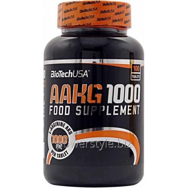 Аминокислота AAKG 1000 (100 таблетс)