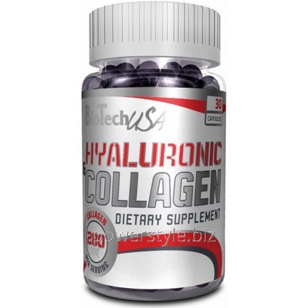 Добавки для спортсменов Hyaluronic & Collagen (30 капсул)