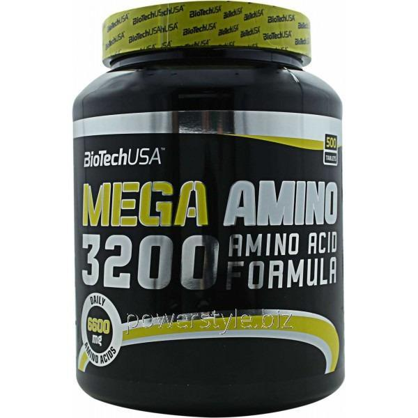 Аминокислота Mega Amino 3200 (500 таблетс)
