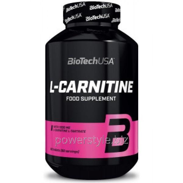 Купить Жиросжигатель L-Carnitine 1000 mg (60 таблетс)