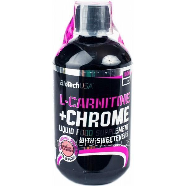 Жиросжигатель L-Carnitine 35 000 + Chrome (500 мл)
