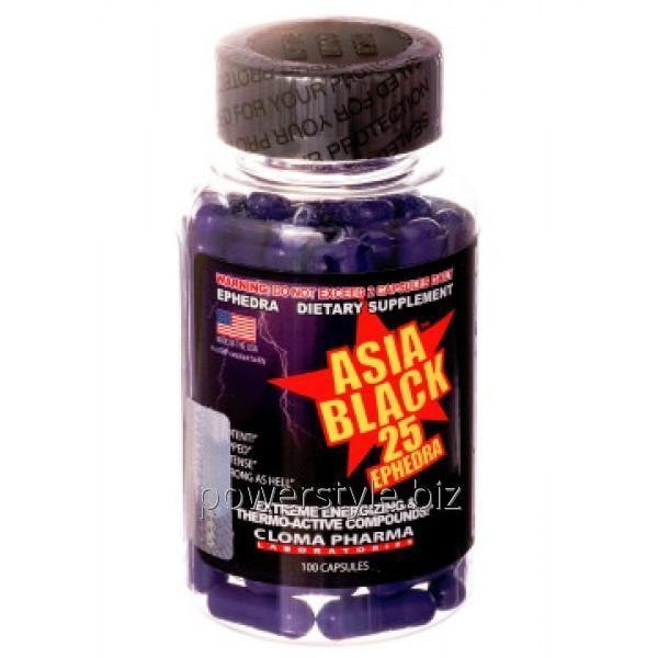 Жиросжигатель Asia Black (100 капсул)