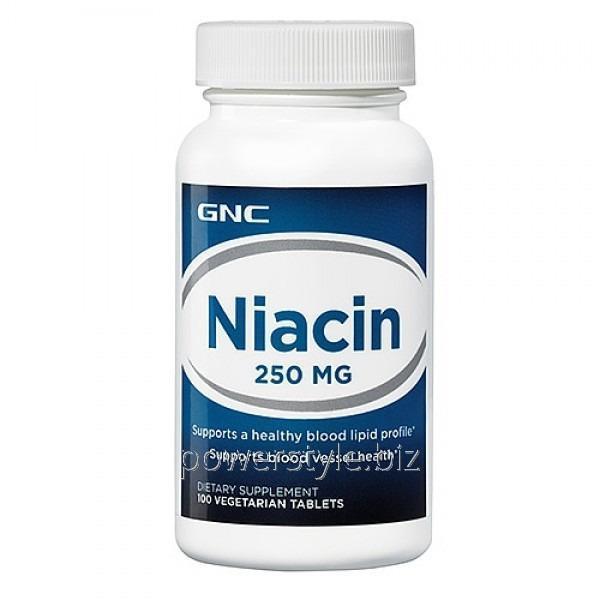 Купить Минералы Niacin 250 (100 таблетс)