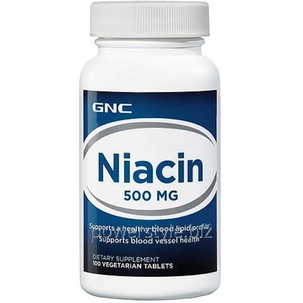 Минералы Niacin 500 (100 veg таблетс)