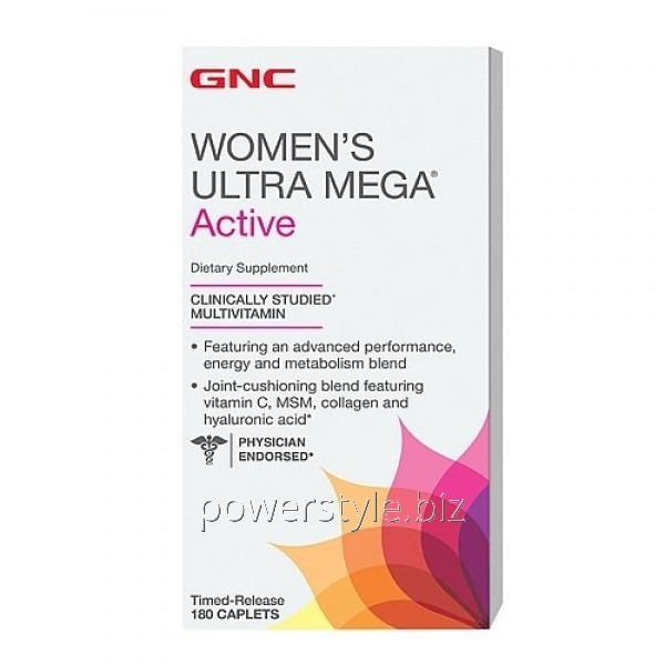 Минералы Womens Ultra Mega Active (180 капсул)