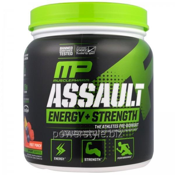 Купить Cмесь Assault Energy+Strength (333 грамм)