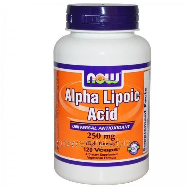 Аминокислота Alpha Lipoic Acid 250 mg (120 veg капсулы)