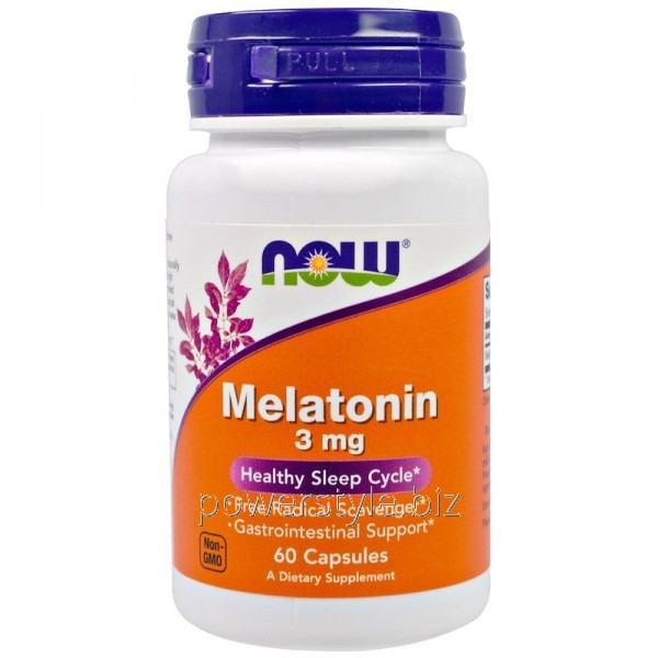 Минералы Melatonin 3 mg (60 капсул)