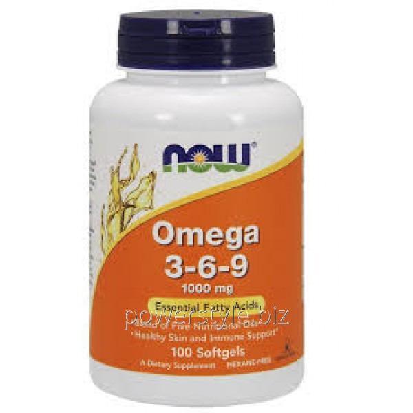 Витамины Omega 3-6-9 (100 капсул)