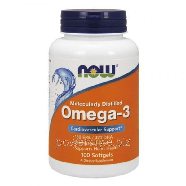 Минералы Omega-3 (100 softgels)
