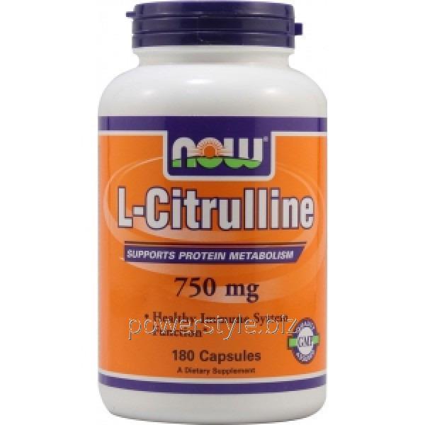 Купить Аминокислота L-Citrulline 750 mg (180 veg капсулы)