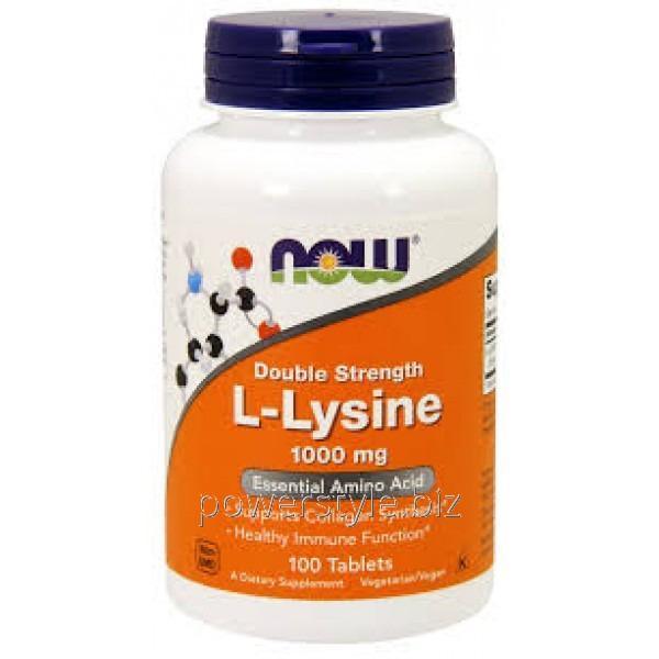 Аминокислота L-Lysine 1000 mg (100 таблетс)