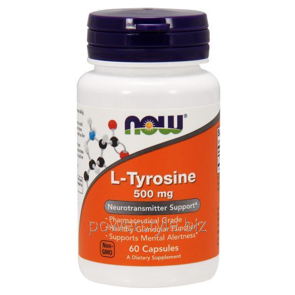 Аминокислота L-Tyrosine 500 mg (60 капсулы)