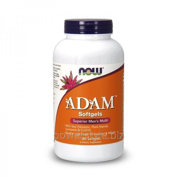 Витамины Adam (180 капсул)