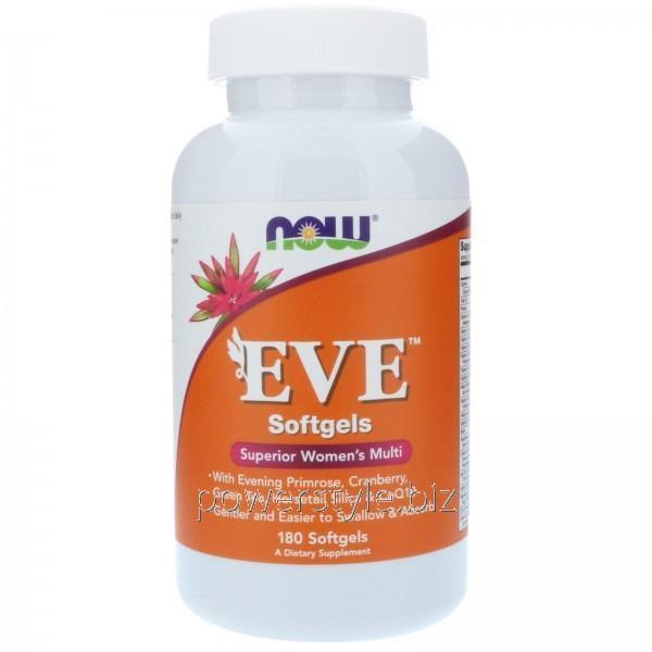 Витамины EVE (180 гелевые капсулы)