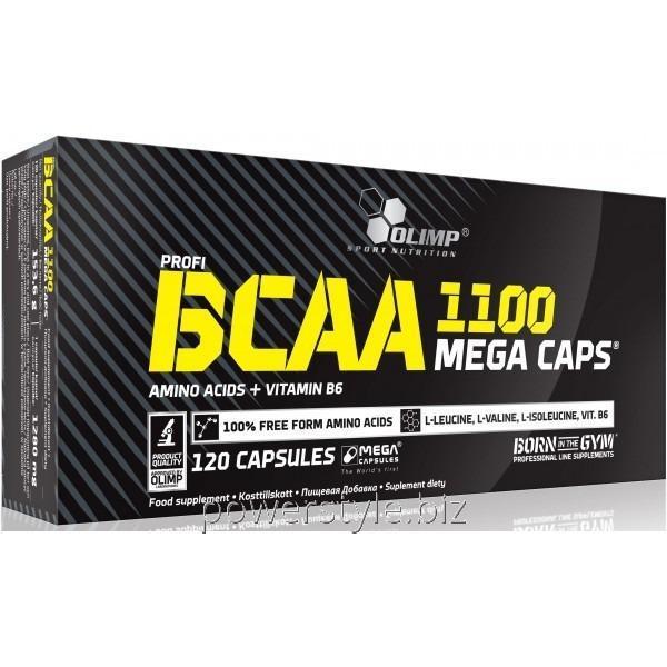 Купить Аминокислота BCAA Mega Caps (120 капсул)