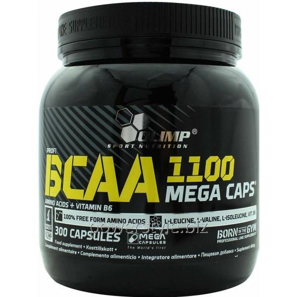 Аминокислота BCAA Mega Caps (300 капсул)