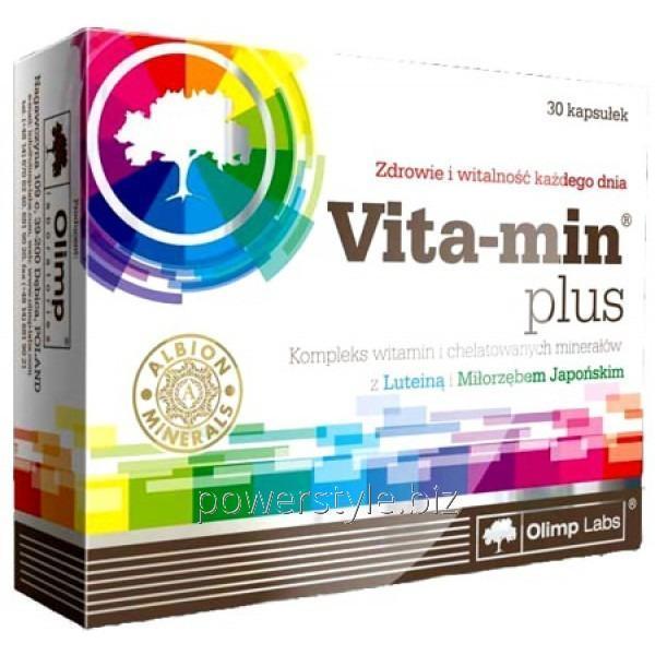 Витамины Vita-min plus (30 капсулы)