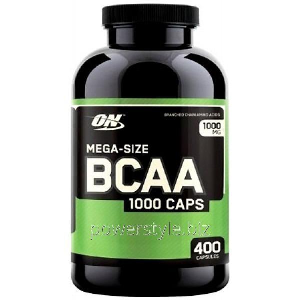 Купить Аминокислота BCAA 1000 (400 капсул)