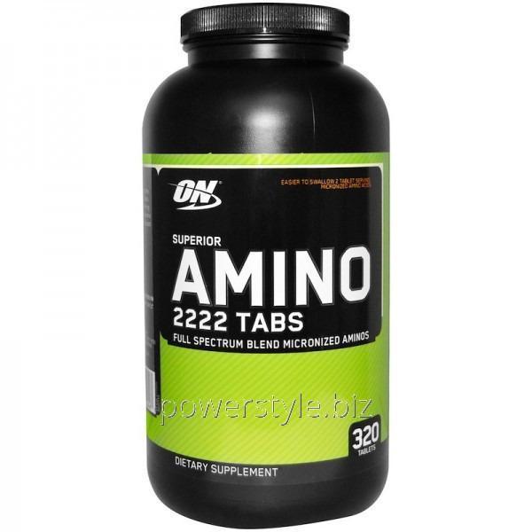 Аминокислота Amino 2222 (320 таблетс)