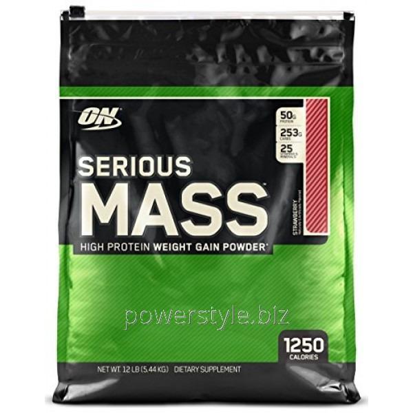 Купить Гейнер Serious Mass (5.4 кг)