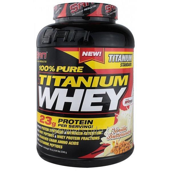 Протеин 100% Pure Titanum Whey (2.25 кг)
