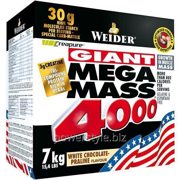 Купить Гейнер Mega Mass 4000 (7 кг)