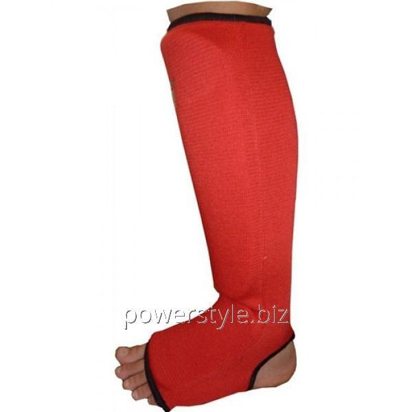 Экипировка ELASTIC SHIN PAD PS-6006 Red