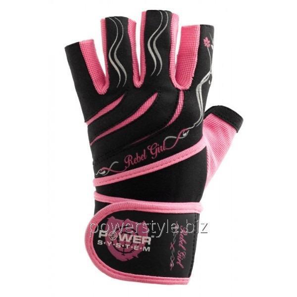 Купить Перчатки атлетические REBEL GIRL PS-2720 Pink