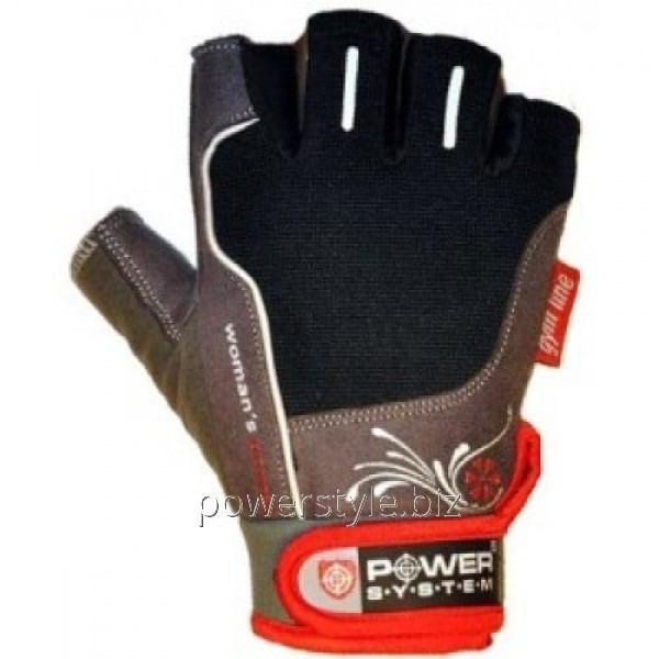 Перчатки атлетические WOMANS POWER PS 2570 Black- Red