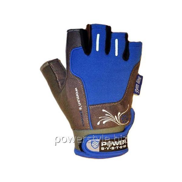 Перчатки атлетические WOMANS POWER PS 2570 Blue
