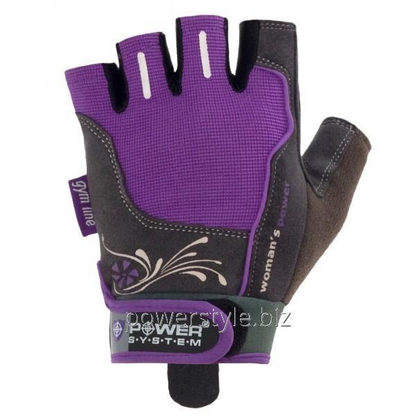 Перчатки атлетические WOMANS POWER PS 2570 Purple