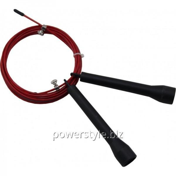 Скакалка скоростная ULTRA SPEED ROPE PS-4033 Red-black