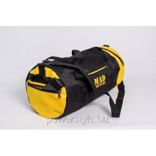 Купить Спортивная сумка MAD 40L черно-желтая