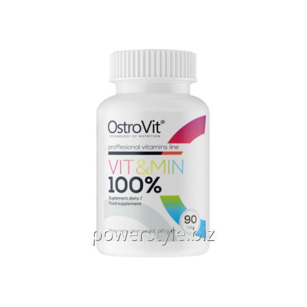 Минералы 100% Vitamin (90 таблетс)