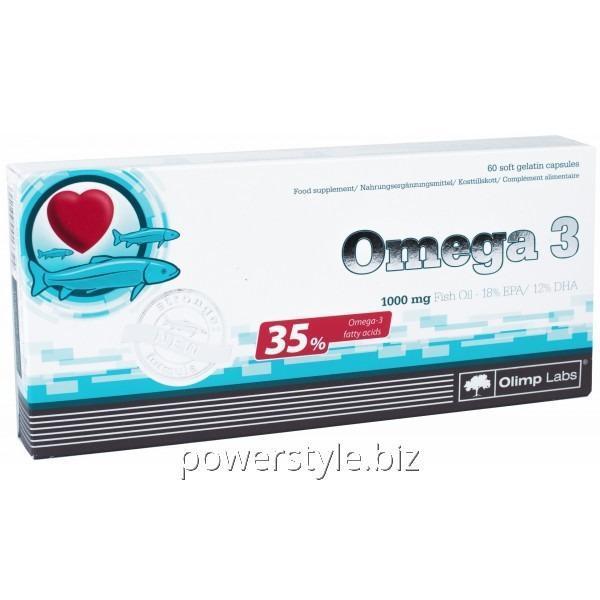 Минералы Omega 3 (35%), (60 капсул)