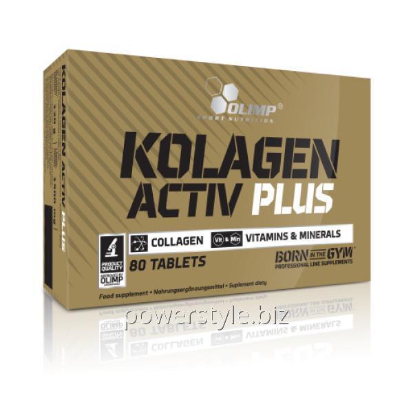 Добавки для спортсменов Kolagen Activ Plus (80 таблетс)