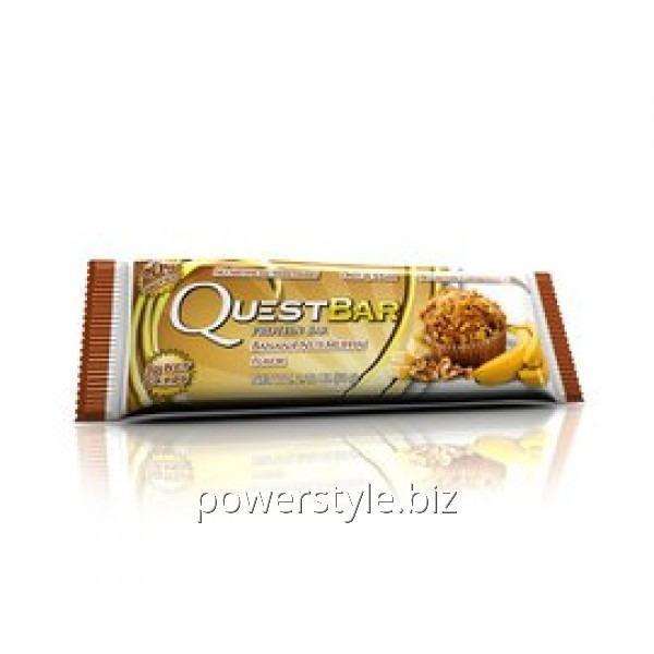 Купить Спортивный батончик Quest Protein Bar банан ореховый мафин (60 грамм)