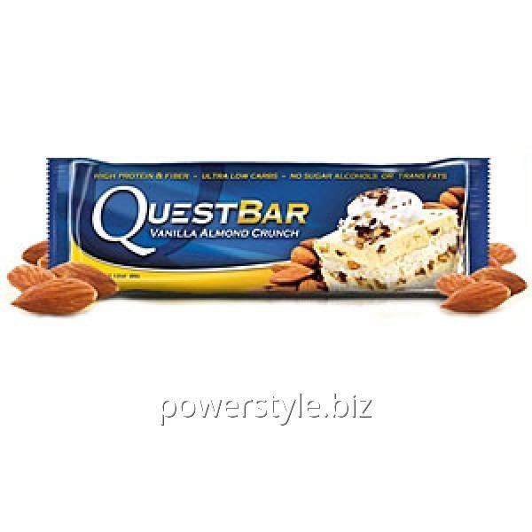 Спортивный батончик Quest Protein Bar ванильно-миндальный пирог (60 грамм)