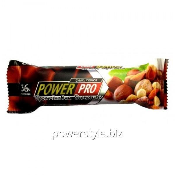 Купить Батончик Power Pro 36% орех Nutella (60 грамм)