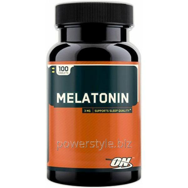 Минералы Melatonin 3 mg (100 таблетс)
