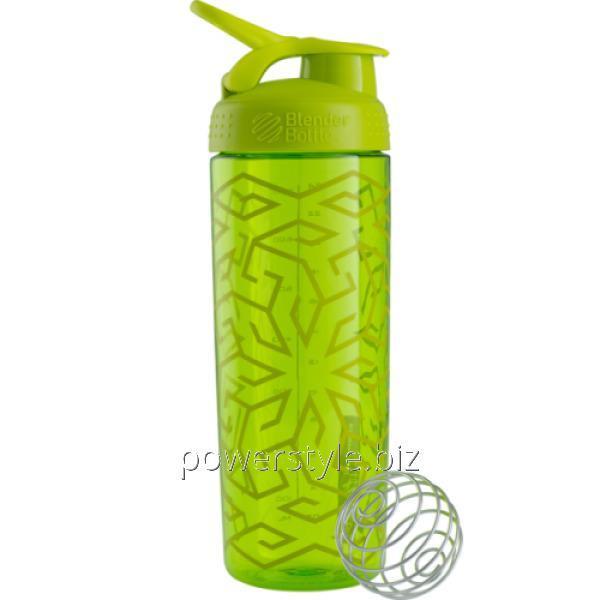 Шейкер Sleek c шариком 820 ml - зеленый (Green Zen Gala)